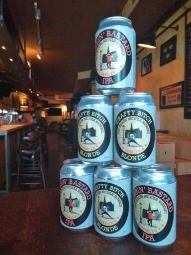 Stolen Bicycle Brewery, 33 cl cans
